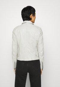 Gipsy - LABAGV - Leather jacket - off white - 2