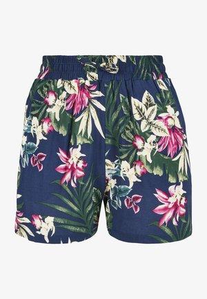 VISCOSE RESORT SHORTS - Shorts - blue flower