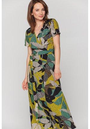 Długa sukienka - zieleń