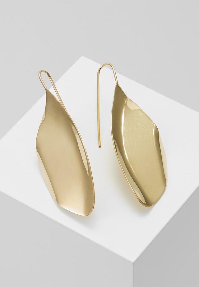TULLA STATEMENT THREADER - Oorbellen - gold-coloured