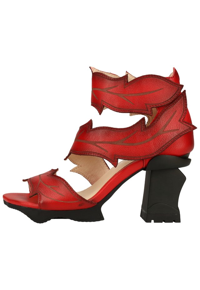 LAURA VITA SANDALEN - High heeled sandals - rouge