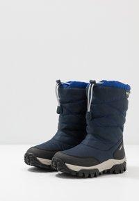 Geox - HIMALAYA BOY - Śniegowce - navy/royal - 3