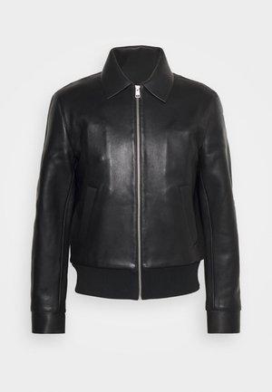 CHESTER - Leather jacket - noir