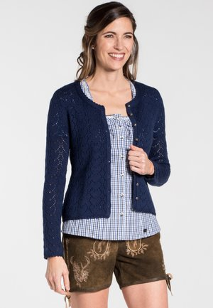 KRISTA - Cardigan - blue denim