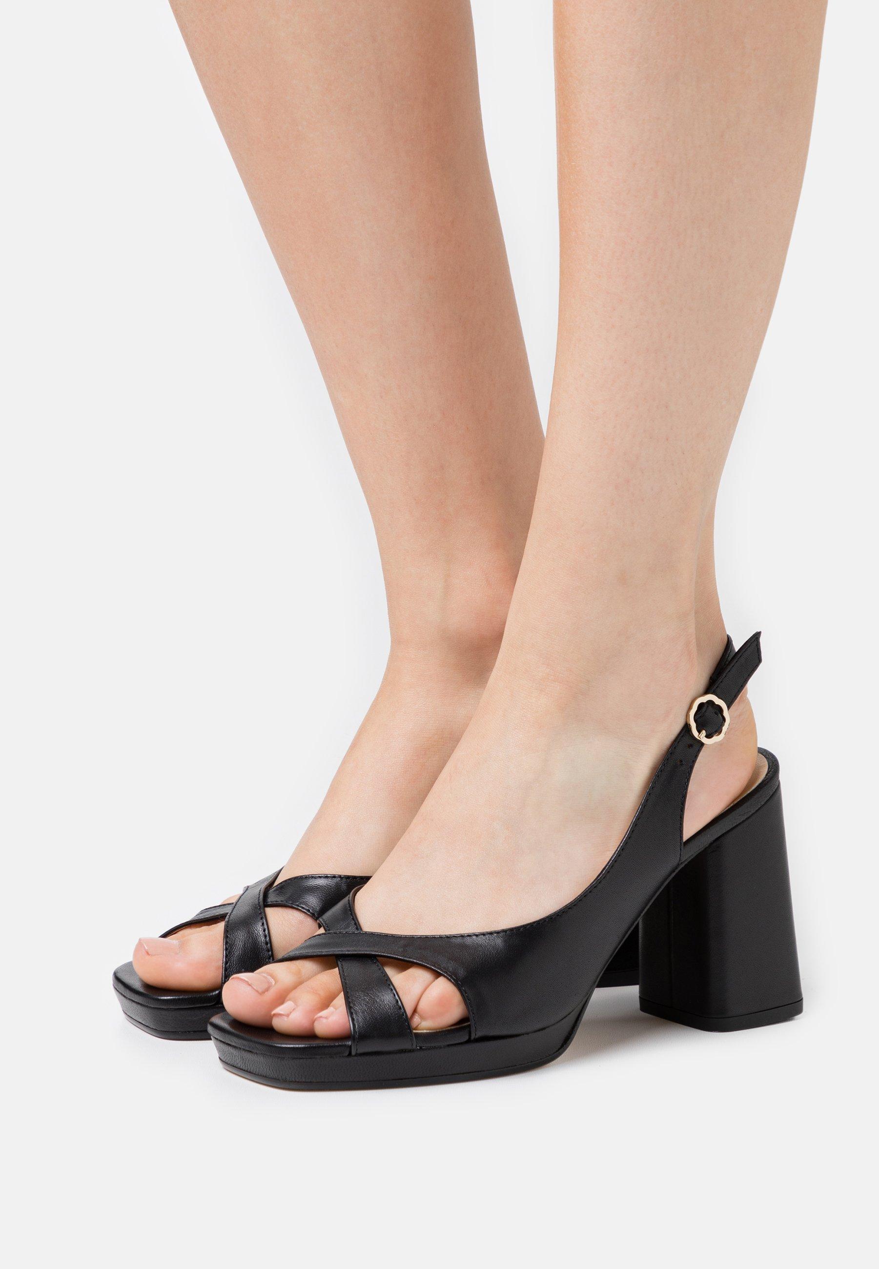 Repetto Piki - Korolliset Sandaalit Noir