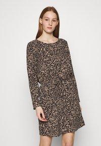 ONLY - ONLNOVA LUX DRAW STRING DRESS - Kjole - black - 0