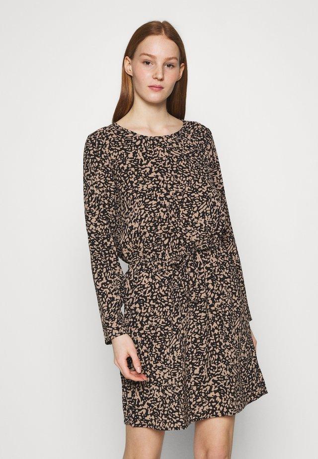 ONLNOVA LUX DRAW STRING DRESS - Sukienka letnia - black