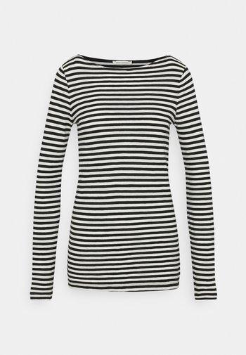 LONG SLEEVE NECK - Long sleeved top - multi/black