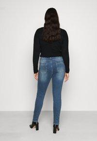 Zizzi - AMY - Jeans Skinny Fit - blue denim - 2