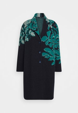 BOILED COATFLORAL - Classic coat - navy