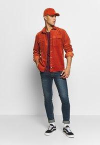Volcom - Slim fit jeans - dark blue denim - 1