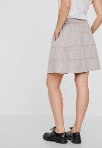 Noisy May - NMLAUREN  - A-line skirt - grey - 2