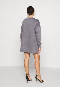 Missguided Petite - OVERSIZED DRESS WASHED - Day dress - charcoal - 2
