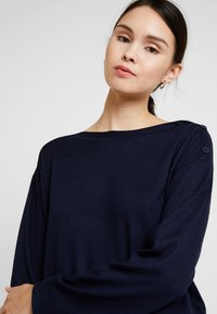 Benetton - CREW NECK  - Jumper - navy - 3