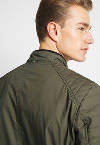 Strellson - ROVIGO STAND UP  COLLAR - Summer jacket - olive - 5