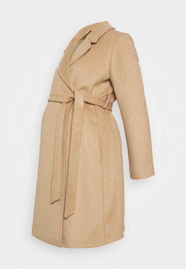 WRAP COAT - Zimní kabát - classic camel
