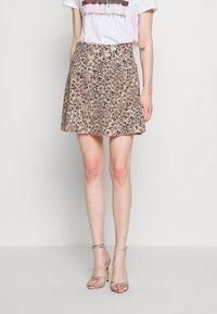 Ivyrevel - A-LINE MINI SKIRT - A-line skirt - black - 0