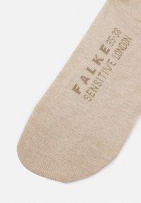 FALKE - SENS LONDON - Calzettoni - sand melange - 2