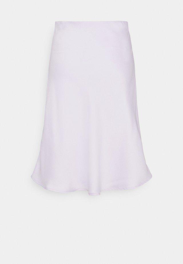 GRYNA - A-line skirt - lavender blue