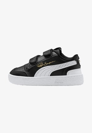 PUMA RALPH SAMPSON LO V BABIES' TRAINERS UNISEX - Baby shoes - black/white