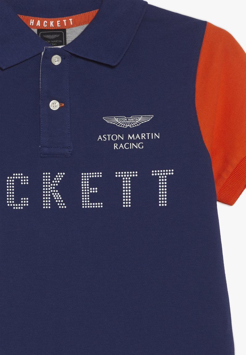 Hackett London Aston Martin Racing Polo Shirt Dark Blue Zalando De