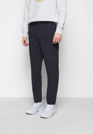 Kalhoty - navy nylon