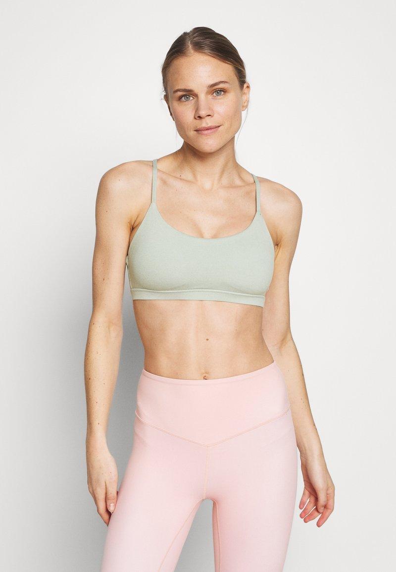 Cotton On Body - SO SOFT RACER CROP - Sport BH - aloe