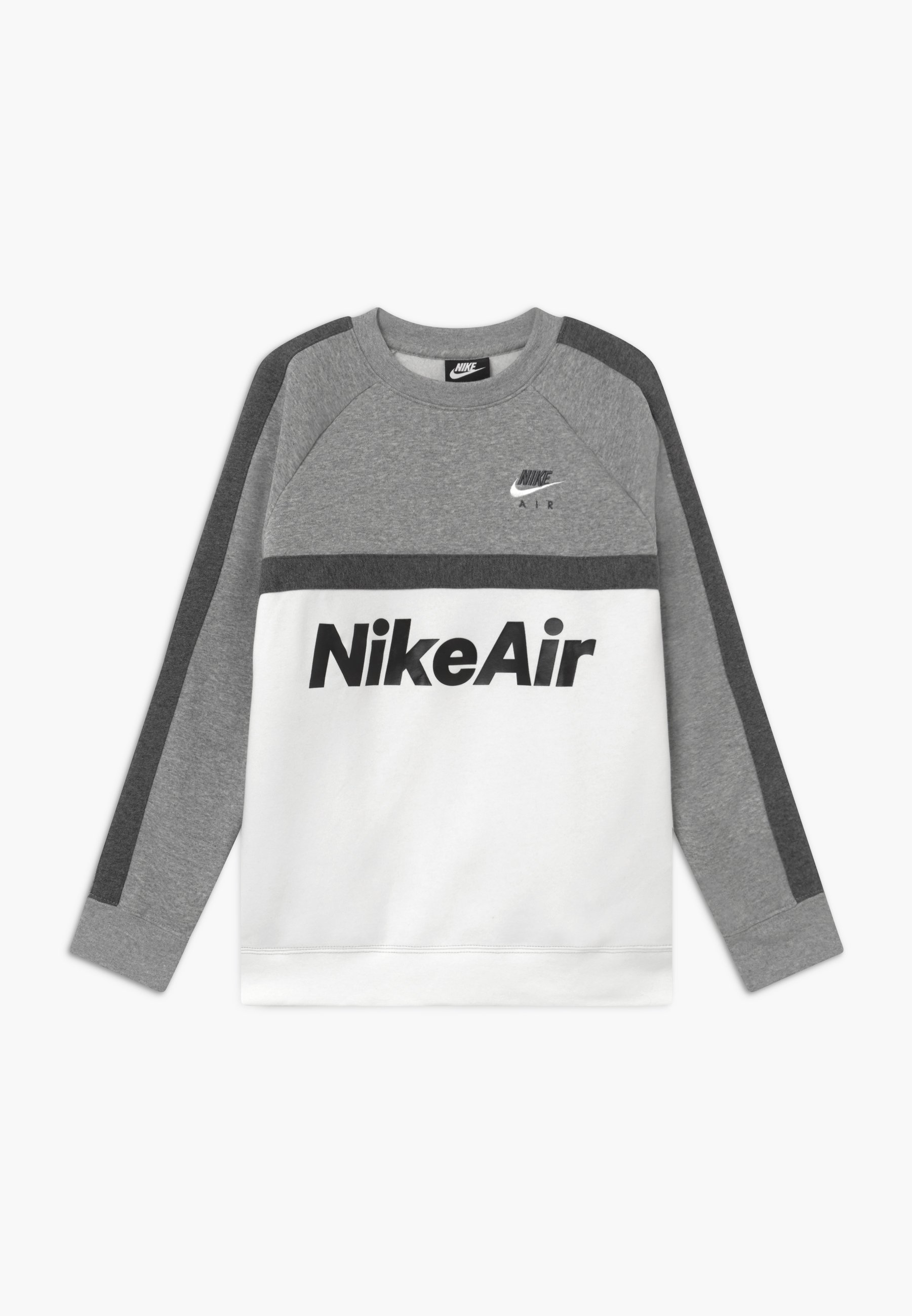 Nike Sportswear AIR CREW Sweatshirt blackwhite Zalando.at