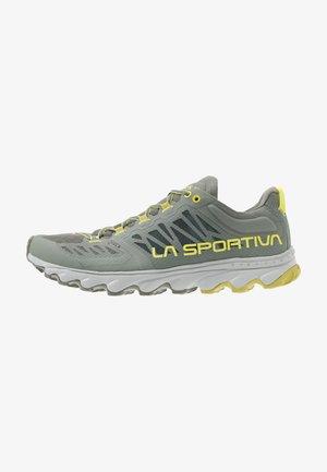 HELIOS III - Zapatillas de trail running - clay/citrus