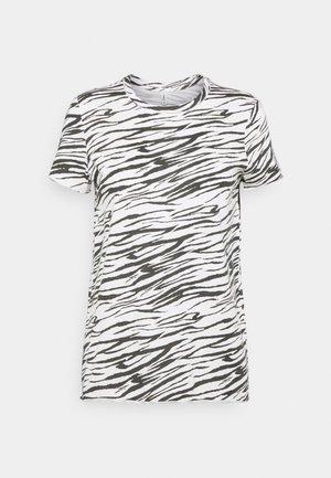 ONLGINA LIFE - T-shirts med print - cloud dancer