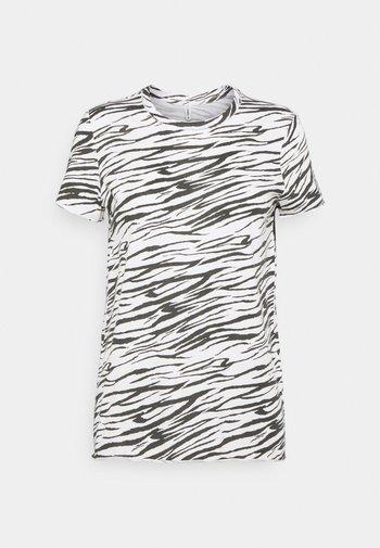 ONLGINA LIFE - T-shirt imprimé - cloud dancer