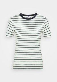 Petit Bateau - TEE - Print T-shirt - marshmallow/vallee - 4