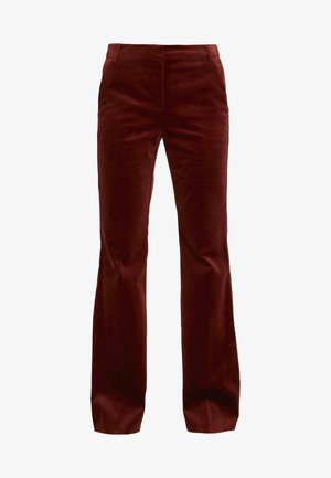 QUASAR - Kalhoty - burnt brown