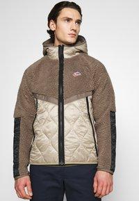 Nike Sportswear - WINTER - Winter jacket - olive grey/mystic stone/life lime - 3