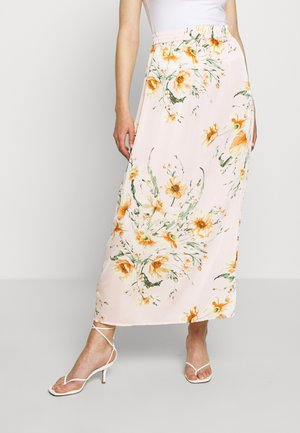 VIRUA ZANNE MAXI SKIRT - Maxi skirt - light pink