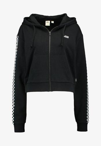 FUNNIER TIMES  - Zip-up hoodie - black