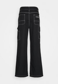 Napapijri The Tribe - SAIMAA UNISEX - Trousers - black - 1