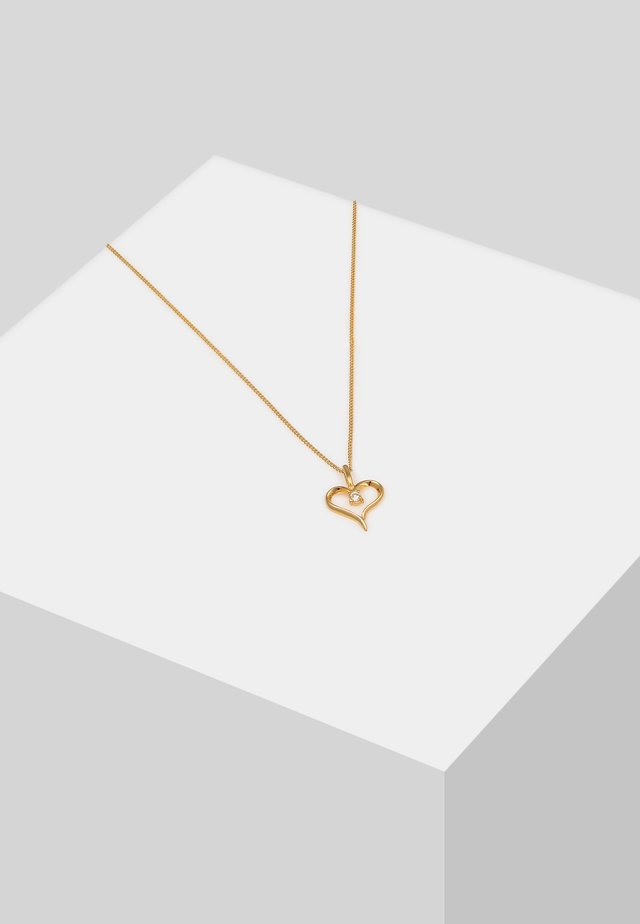 HERZ ZART - Necklace - gold-coloured