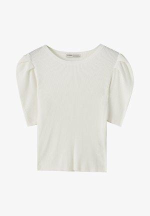 MIT KURZEN ÄRMELN - T-Shirt basic - off-white