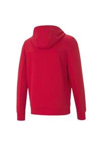 Puma - FERRARI STYLE - Zip-up hoodie - rosso corsa - 5