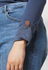 Ragwear Plus - PINCH SOLID PLUS - Top sdlouhým rukávem - blue - 4