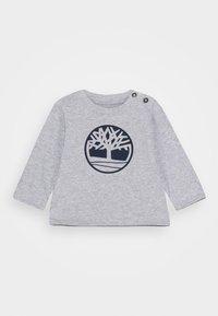 Timberland - LONG SLEEVE BABY - Top sdlouhým rukávem - chine grey - 0