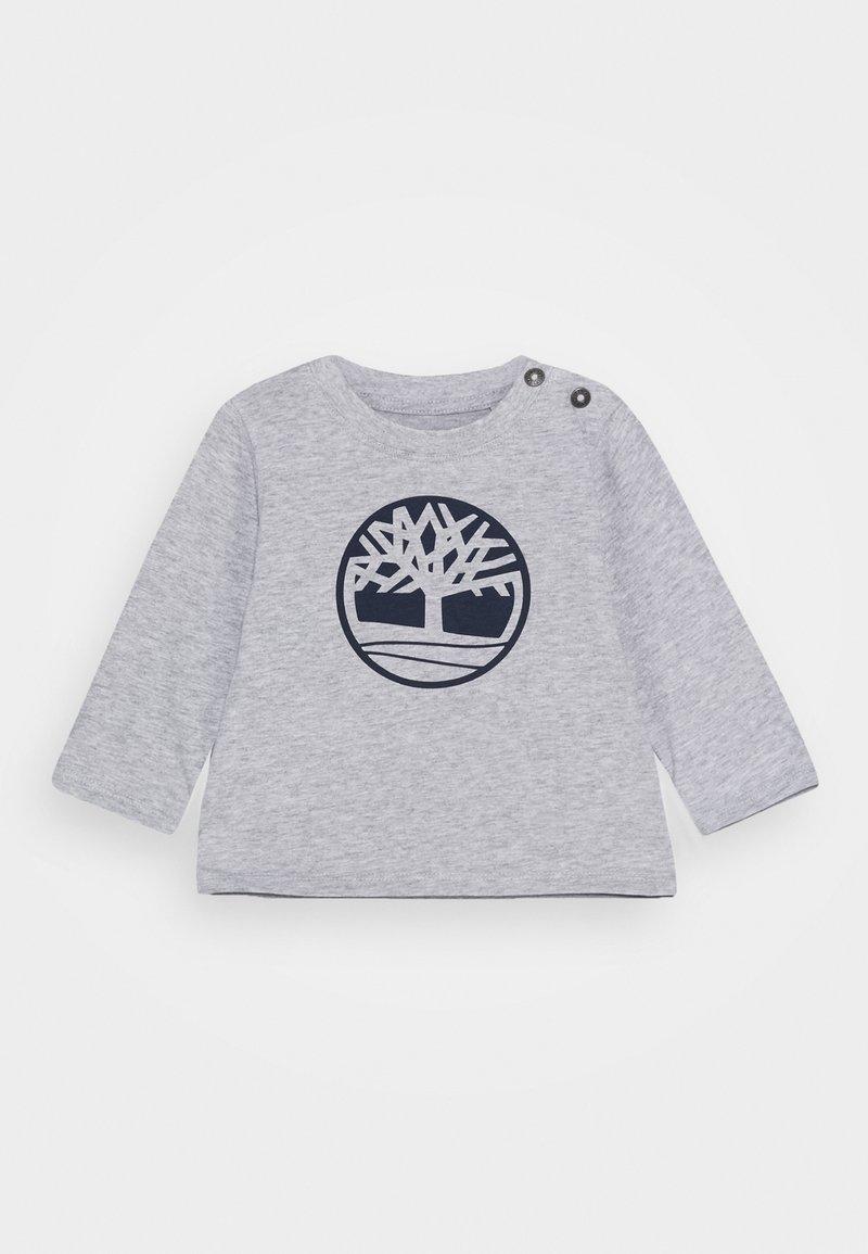 Timberland - LONG SLEEVE BABY - Top sdlouhým rukávem - chine grey