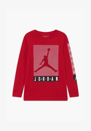 JUMPMAN BLINDS - Top s dlouhým rukávem - gym red