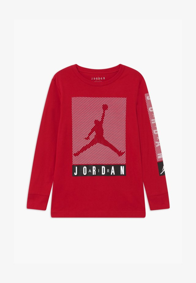 JUMPMAN BLINDS - Maglietta a manica lunga - gym red