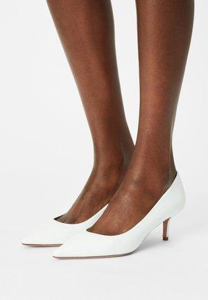 ALLEGRA - Classic heels - bianco