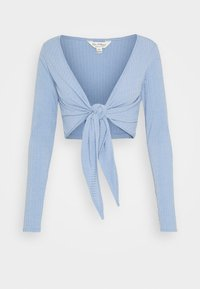 Miss Selfridge - BALLET WRAP - Gilet - blue - 0