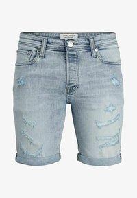Jack & Jones - Denim shorts - blue denim - 5