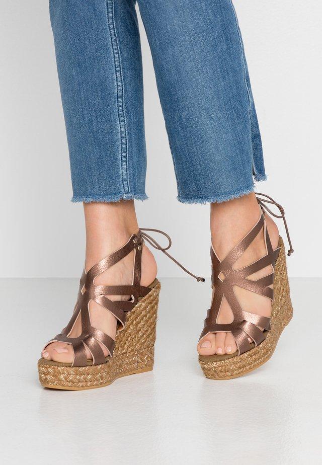 SOFIA - High heeled sandals - mammut marrakech