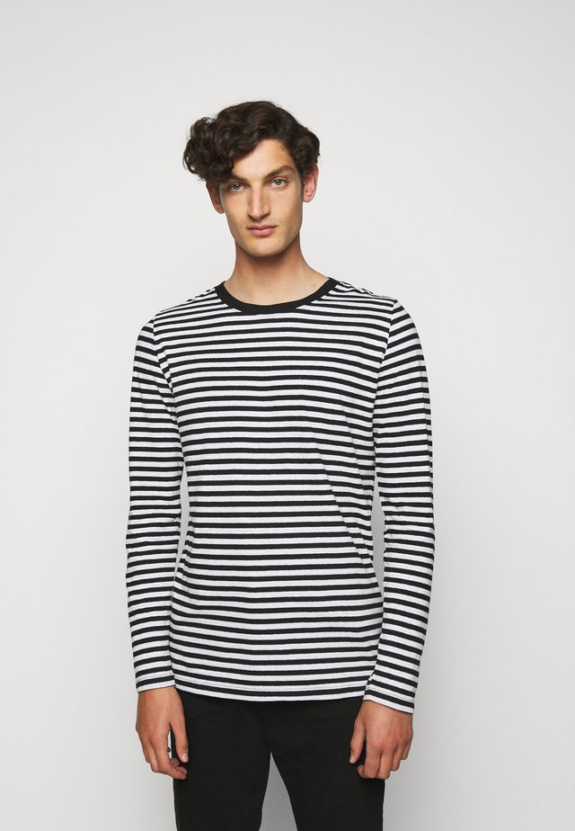 TYBO - Long sleeved top - black/white